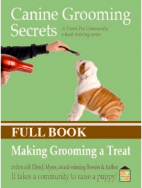 Dog Grooming e-book, how to groom a dog, get dog grooming tips