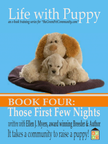 How to get a puppy to sleep through the Firsts Nights
